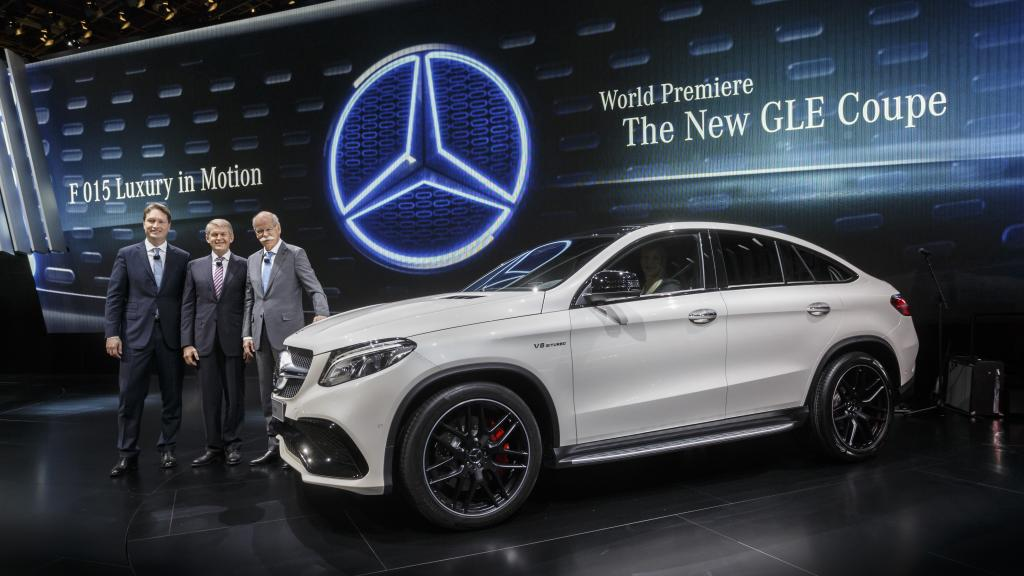 Mercedes Benz Keeps Momentum Going At Detroit Motor Show