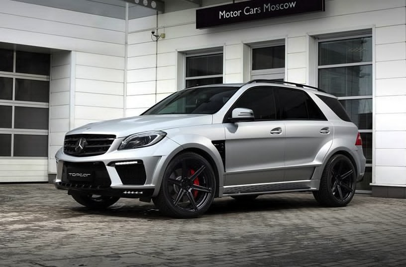 topcar unveils the silver arrow kit for mercedes ml 63 amg. Black Bedroom Furniture Sets. Home Design Ideas