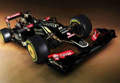 lotus car with mercedes engine