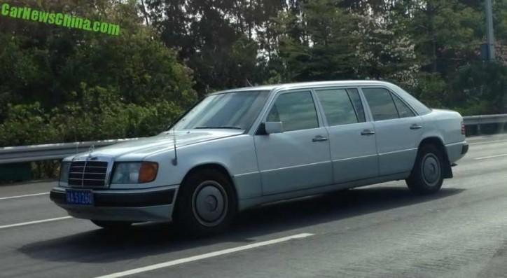 mercedes-benz e-class limousine