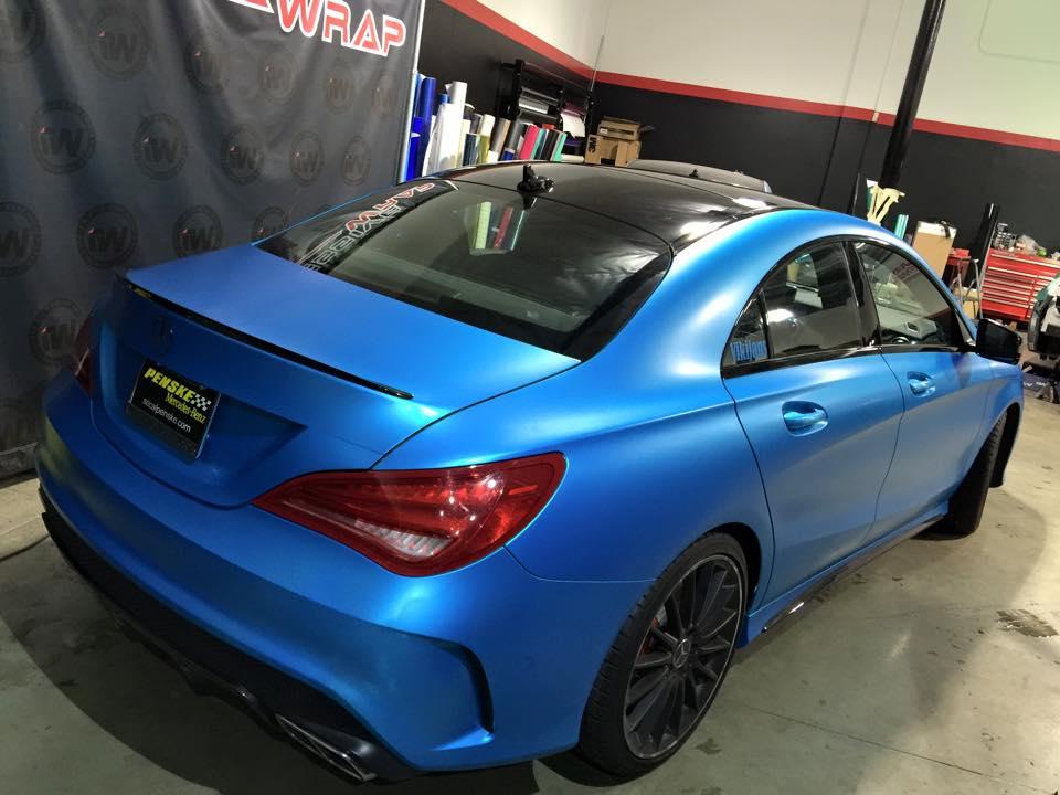 Mercedes Cla45 Amg Impressive Wrap 5 Benzinsider Com