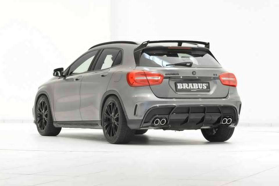 Brabus Mercedes Gla Amg Fitted With Stealth Black Wheels