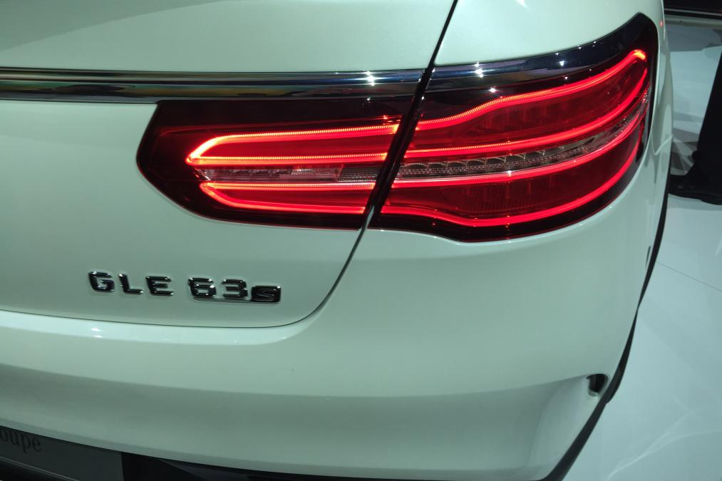 The Mercedes Amg Gle 63 S Coupe At Detroit Motor Show