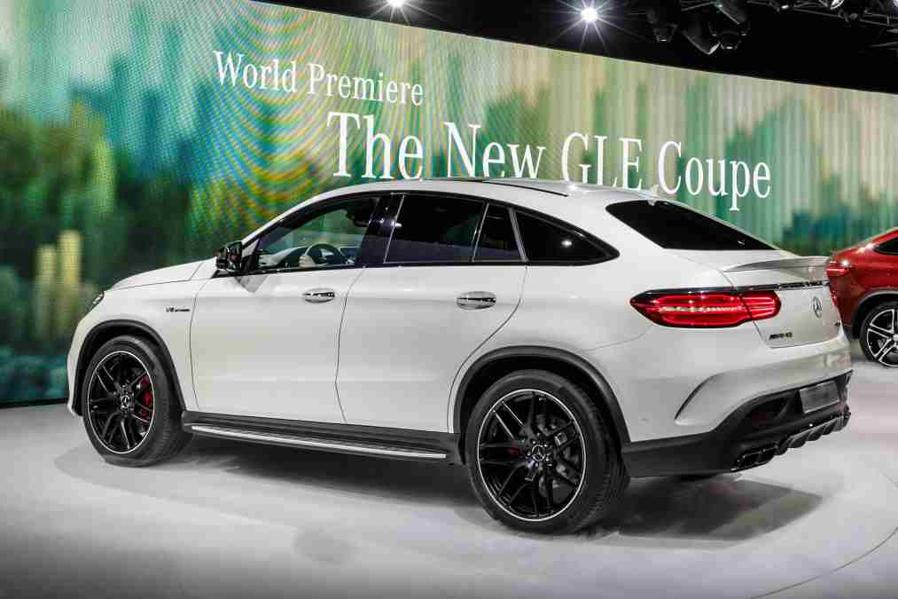 the mercedes-amg gle 63 s coupe at detroit motor show