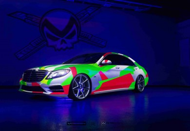 mercedes s550 glow in the dark (1)