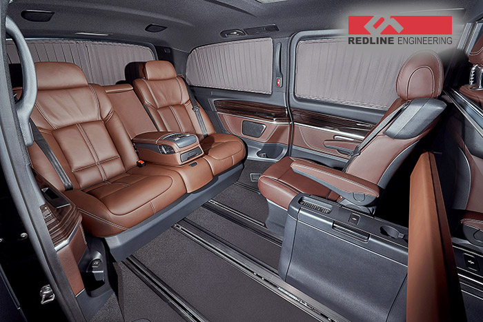 Redline Gives The Mercedes Benz Viano An Amazing Interior