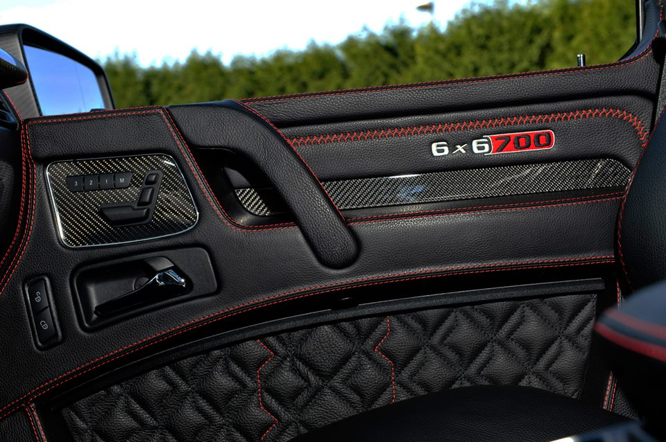 Interior Package For The Brabus 6x6 700 To Be Offered