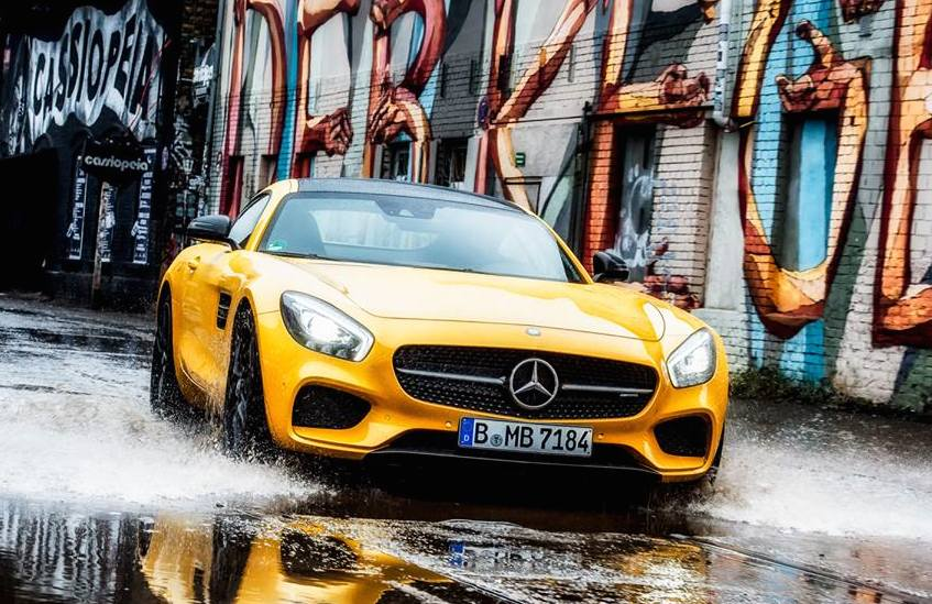 Mercedes-AMG Draws Attention In Berlin