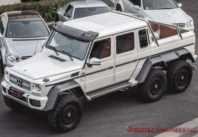 Weistec Engineering Tunes Mercedes-Benz G63 AMG 6x6