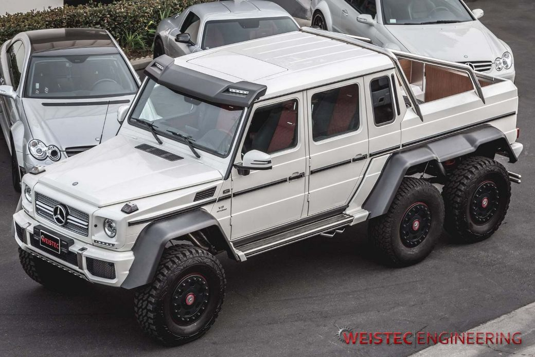 Weistec engineering tunes mercedes benz g63 amg 6x6 for Mercedes benz g63 6x6 amg