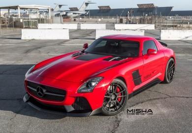Misha Design Unveils Tuned Mercedes-Benz SLS AMG