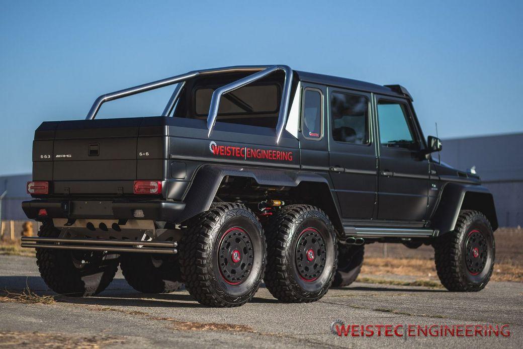 Weistec engineering tunes mercedes benz g63 amg 6x6 for Mercedes benz amg g63 6x6