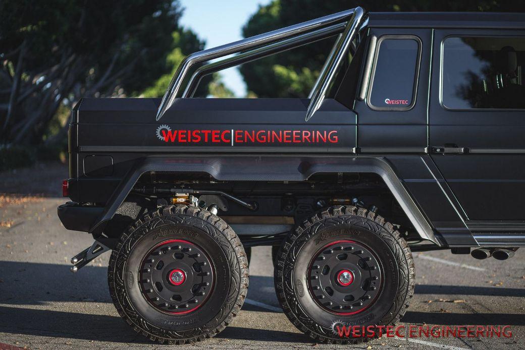 Weistec Engineering Tunes Mercedes-Benz G63 AMG 6x6