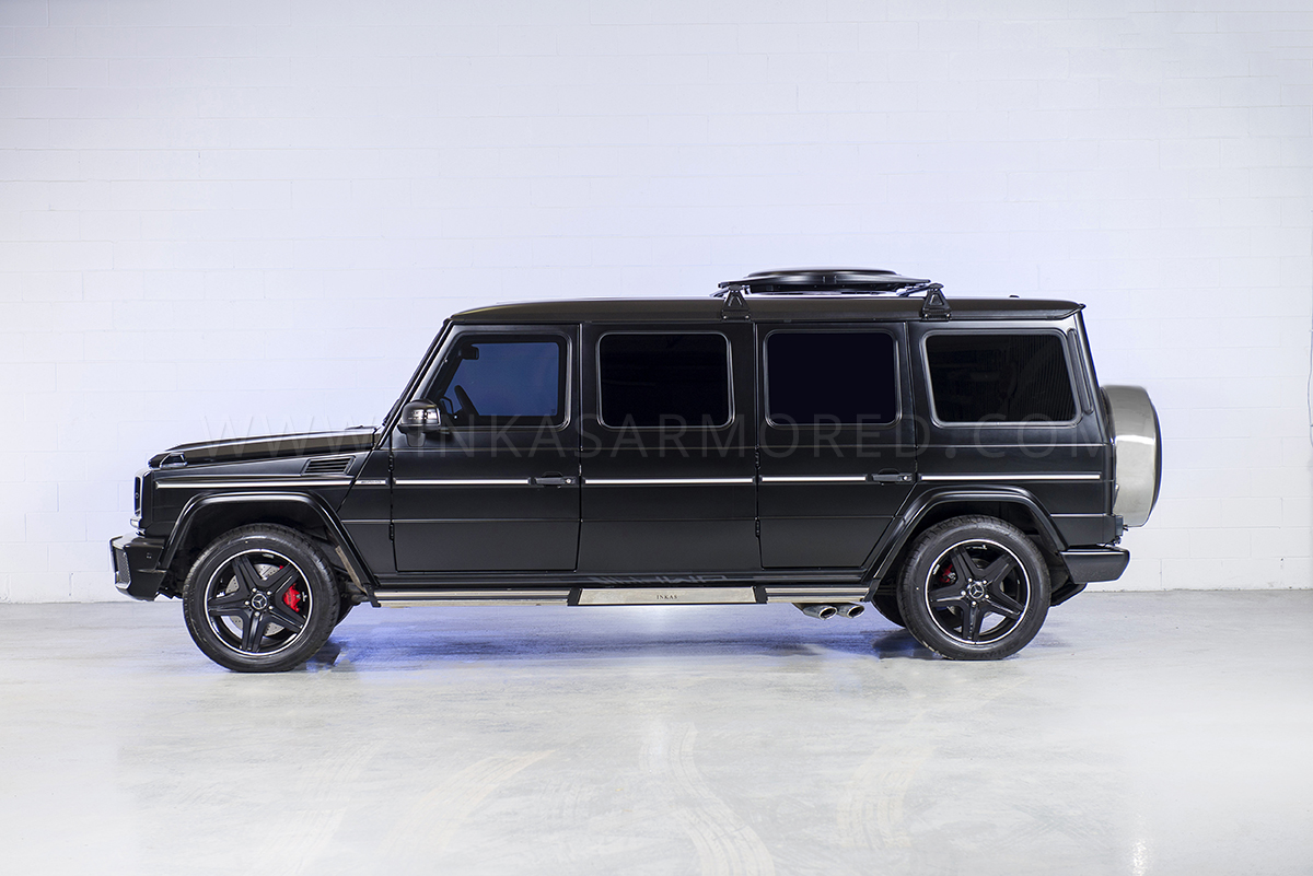 Inkas Mercedes G63 Amg Armored Stretched Limo Upgraded