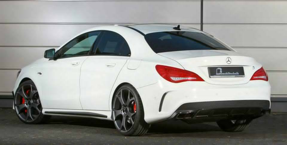 b b reveals tuning package for the mercedes cla 45 amg