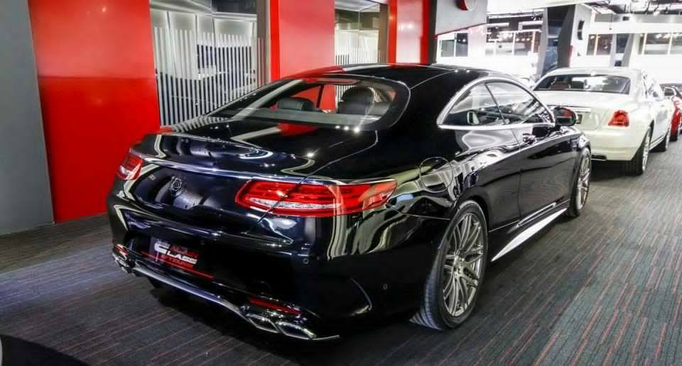 Gorgeous Brabus Mercedes S63 AMG Coupe Found in Dubai