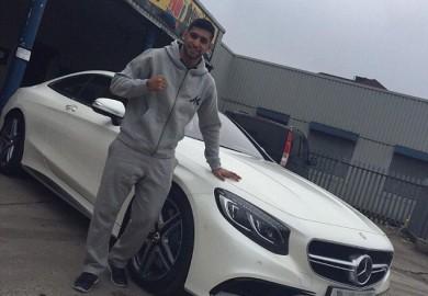 Amir Khan Mercedes S63 AMG