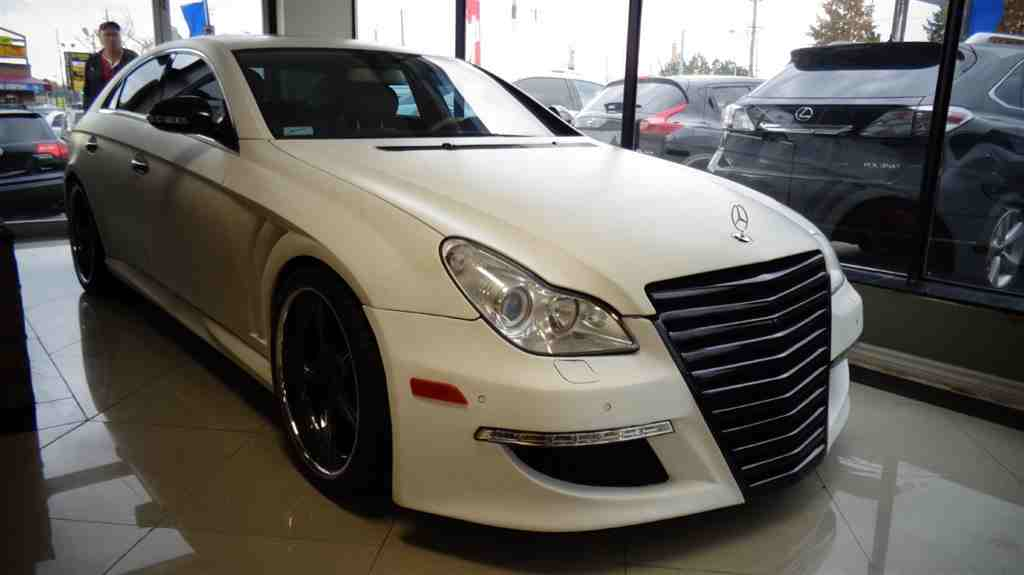 Mercedes cls 550 amg turned into a hideous car for Mercedes benz 550 cls 2015 price