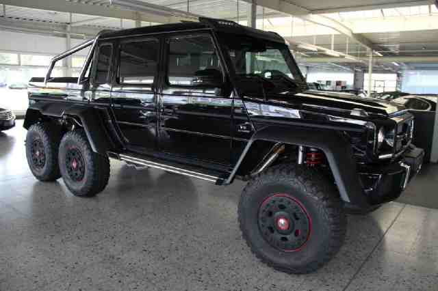 mercedes g63 amg 6x6 gets a 975 000 price tag in florida. Black Bedroom Furniture Sets. Home Design Ideas