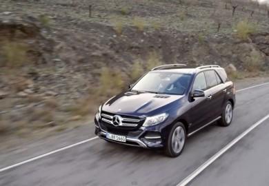 Videos Show Off Mercedes-Benz GLE