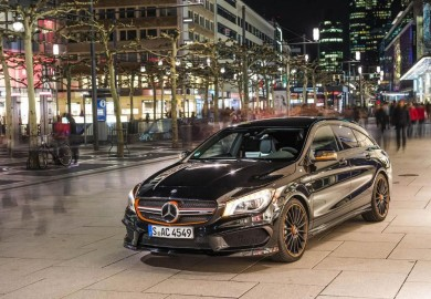 Images Show The 2015 Mercedes-Benz CLA 45 AMG Shooting Brake OrangeArt Edition