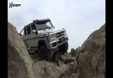 Tuscany Mountains No Match For The Mercedes-Benz G63 AMG 6X6