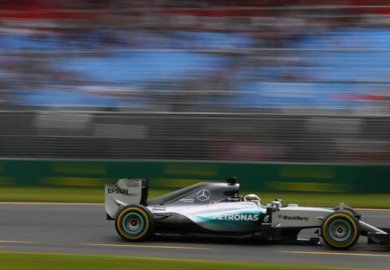 F1 - Lewis Hamilton wins 2015 Australian Grand Prix