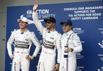 Mercedes F1 takes front row in 2015 Australian GP qualifying