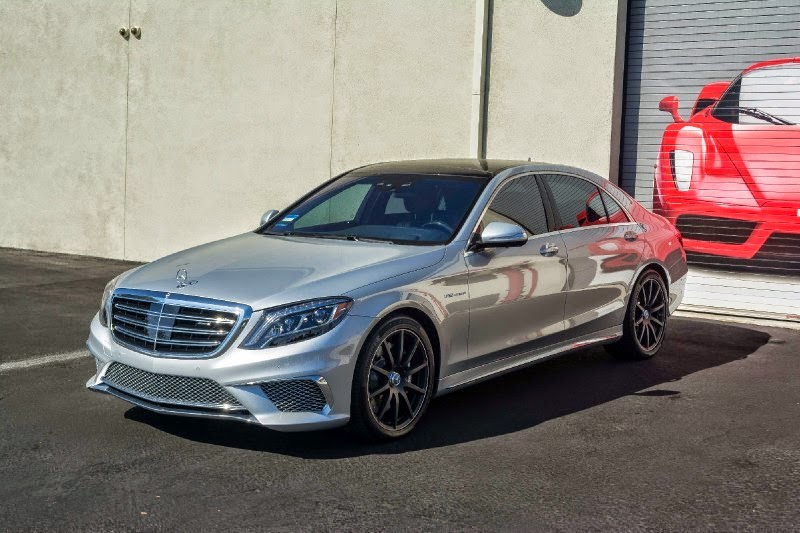 2015 Mercedes S65 AMG Pimped Up with Silvery Finish