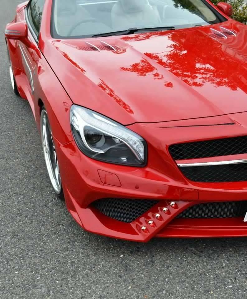 2017 Mercedes Benz Sl Suspension: VITT SQUALO Mercedes SL (21)