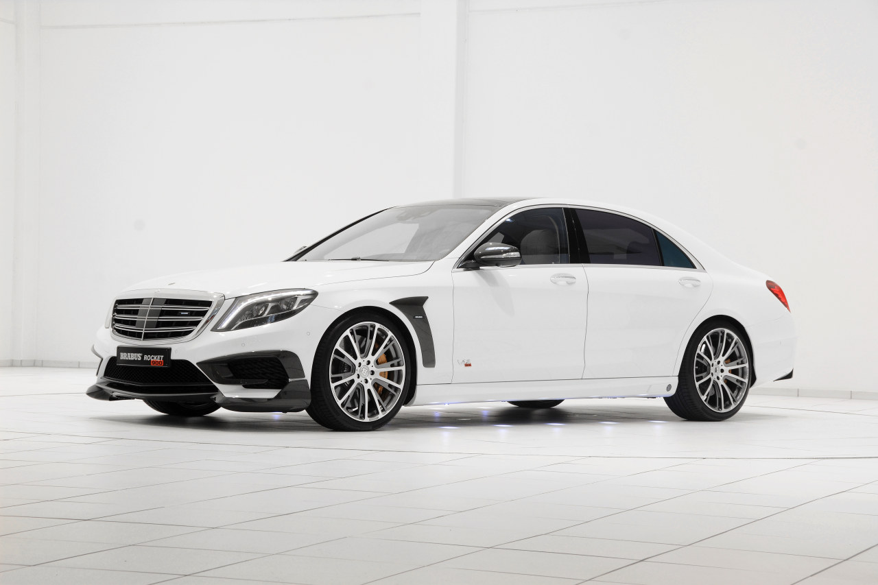 Mercedes Benz Clc 2019 >> A Look at the Brabus Mercedes S-Class Rocket 900