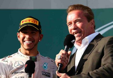 lewis hamilton and arnold