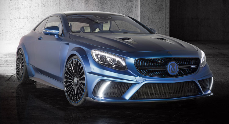 mansory mercedes s63 amg coupe diamond edition video and photos