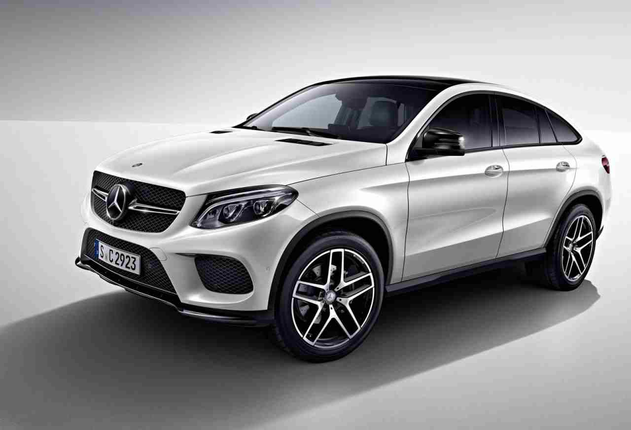 night package released for the mercedes benz gle coupe. Black Bedroom Furniture Sets. Home Design Ideas