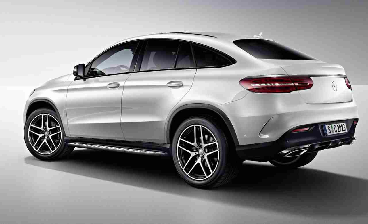 Night package released for the mercedes benz gle coupe for Mercedes benz gle coupe for sale