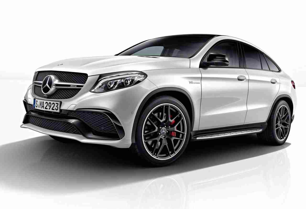 Night package released for the mercedes benz gle coupe for Mercedes benz packages