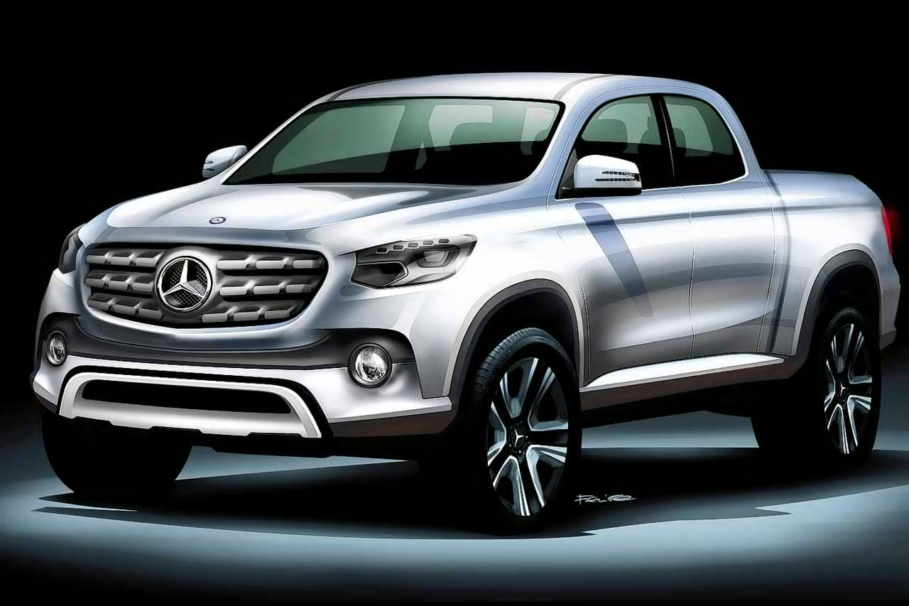 Mercedes benz pickup truck will be named the glt for Mercedes benz helms
