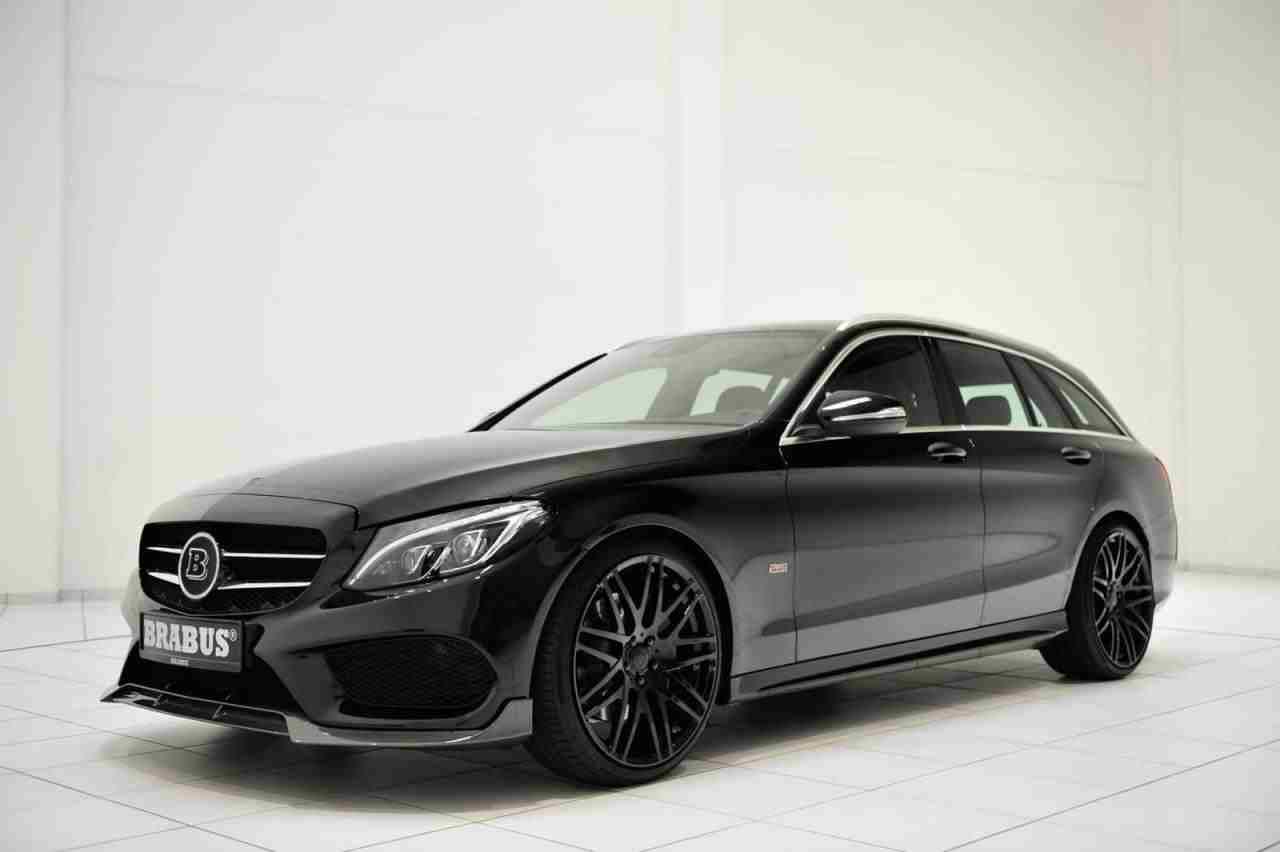 Brabus Upgrades The Mercedes C Class Estate Amg Line