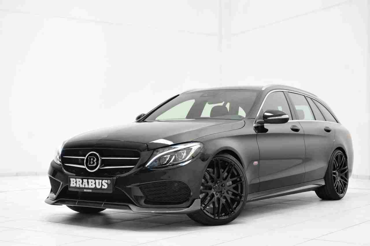 brabus upgrades the mercedes c class estate amg line. Black Bedroom Furniture Sets. Home Design Ideas