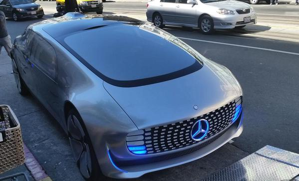 Spotted Mercedes Self Driving Car In San Francisco