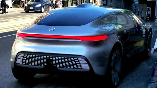 Mercedes F 015 >> Spotted: Mercedes Self Driving Car in San Francisco