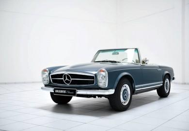 Brabus Mercedes SL Collection Joins The Techno Classica Essen