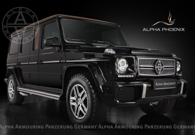 Mercedes-Benz G63 AMG-Based Phoenix Of Alpha Armouring