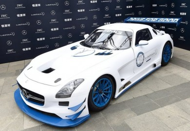 Special Edition Mercedes-Benz SLS AMG GT3 Sold For Charity