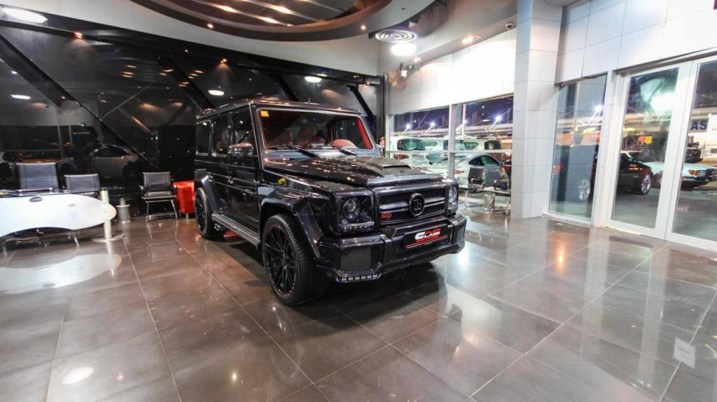 Brabus Mercedes G65 800 Displayed At Al Ain Class Motors Showroom