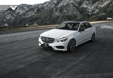 Vorsteiner Wheels Enhance Mercedes-Benz E350