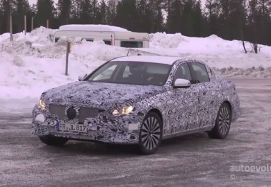 Video Shows 2017 Mercedes-Benz E-Class Being Tested