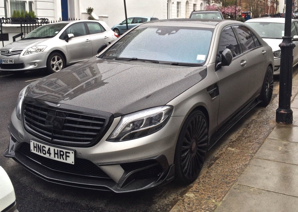 Mansory Tuned Mercedes Benz S63 Amg Seen In London