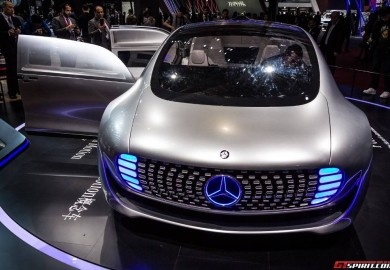 Mercedes-Benz F015 Luxury In Motion Seen At The Shanghai Motor Show