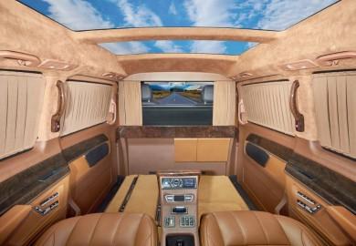 Redline Engineering Enhances The Interior Of The 2015 Mercedes-Benz V-Class